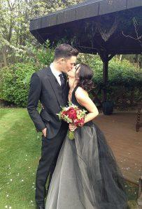Shanae Grimes Wedding Dress